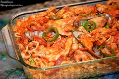 Filipino Paella, Valenciana, Spain, Spanish Food, FX777, FX777222999, Rice, Seafood, Meats