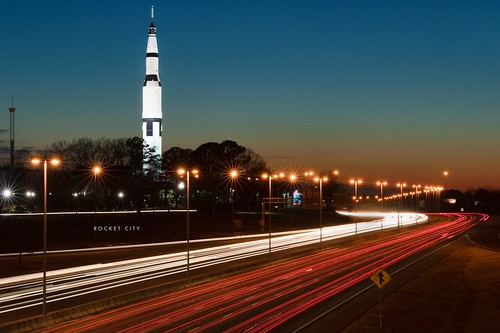longexposure camp huntsville dusk space alabama nasa citylights project365 rocketcity tokina100mm d700 tokina100mmf28atxprod