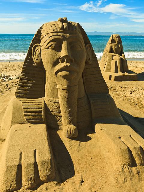 Sand sculptures