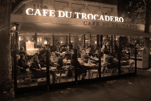 Cafe Du Trocadero Paris