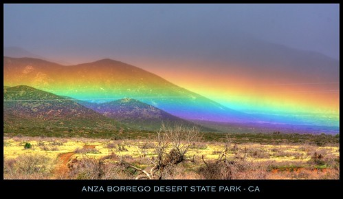 california blue winter mist mountains colors grass rain clouds rainbow rocks sandiego branches hills wires seven twigs hdr mounds darkclouds drizzle borregosprings plumcanyon