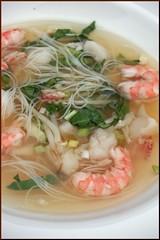 Consommé de crabe clarifié au gingembre
