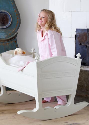 Gustavian cradle