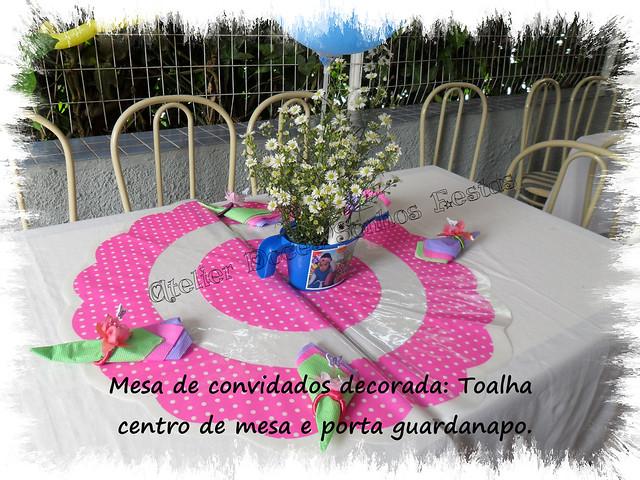 mesa de jardim jumbo : mesa de jardim jumbo:toalhas e centro de mesa – tema jardim