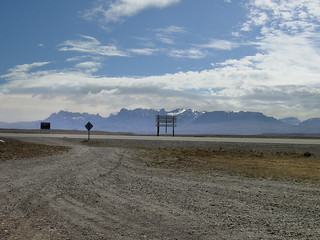 From El Calafate to the border with Chile