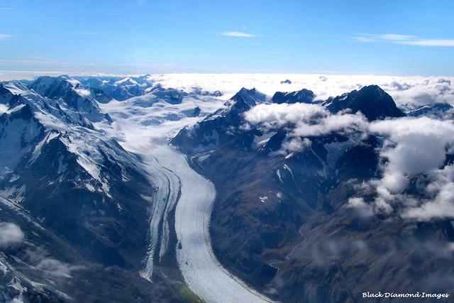 Tasman Glacier - Aoraki/Mount Cook National Park, South Island, New Zealand
