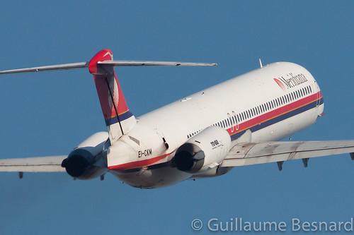 McDonnell Douglas MD-82 Meridiana EI-CKM cn 49792/1655