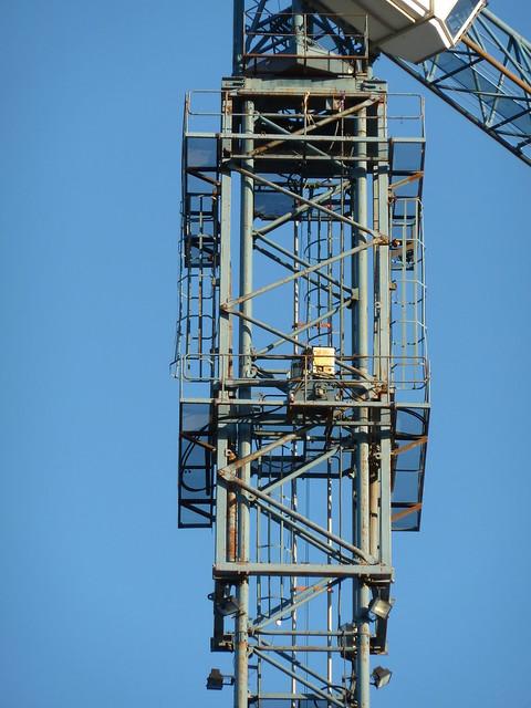 Tower Crane Climbing : Tower crane climbing cage flickr photo sharing