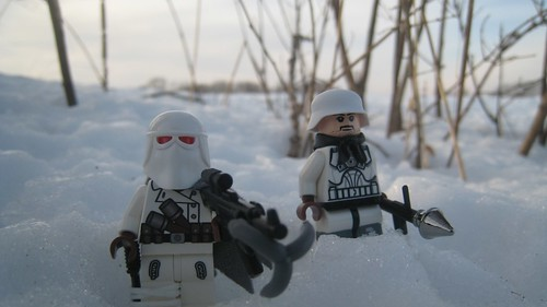 German Soldiers in the Snow