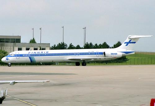Finnair MD-82 OH-LMW CDG 16/06/1991