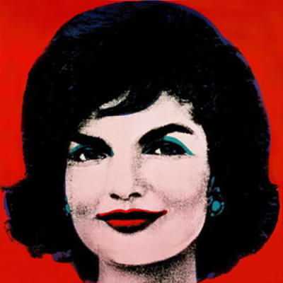 Jackie O by Andy Warhol