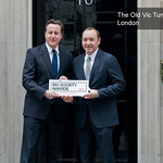 PM David Cameron presents Kevin Spacey with Big Society Award