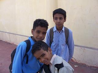 School in Luxor, Egypt