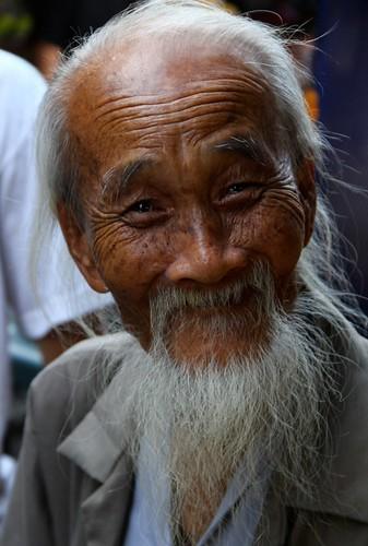 Vietnam, beau vieillard  (Philippe Guy)
