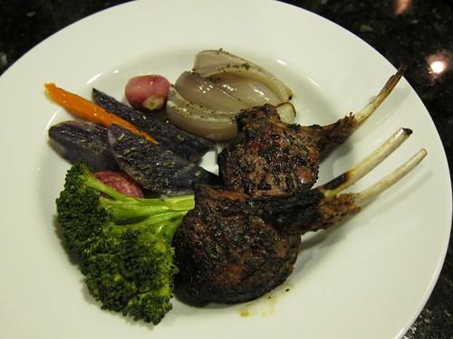 roasted, vege, vegetables, brocolli, red on… IMG_5024