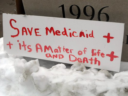 Save Medicaid + its a matter of life and Death