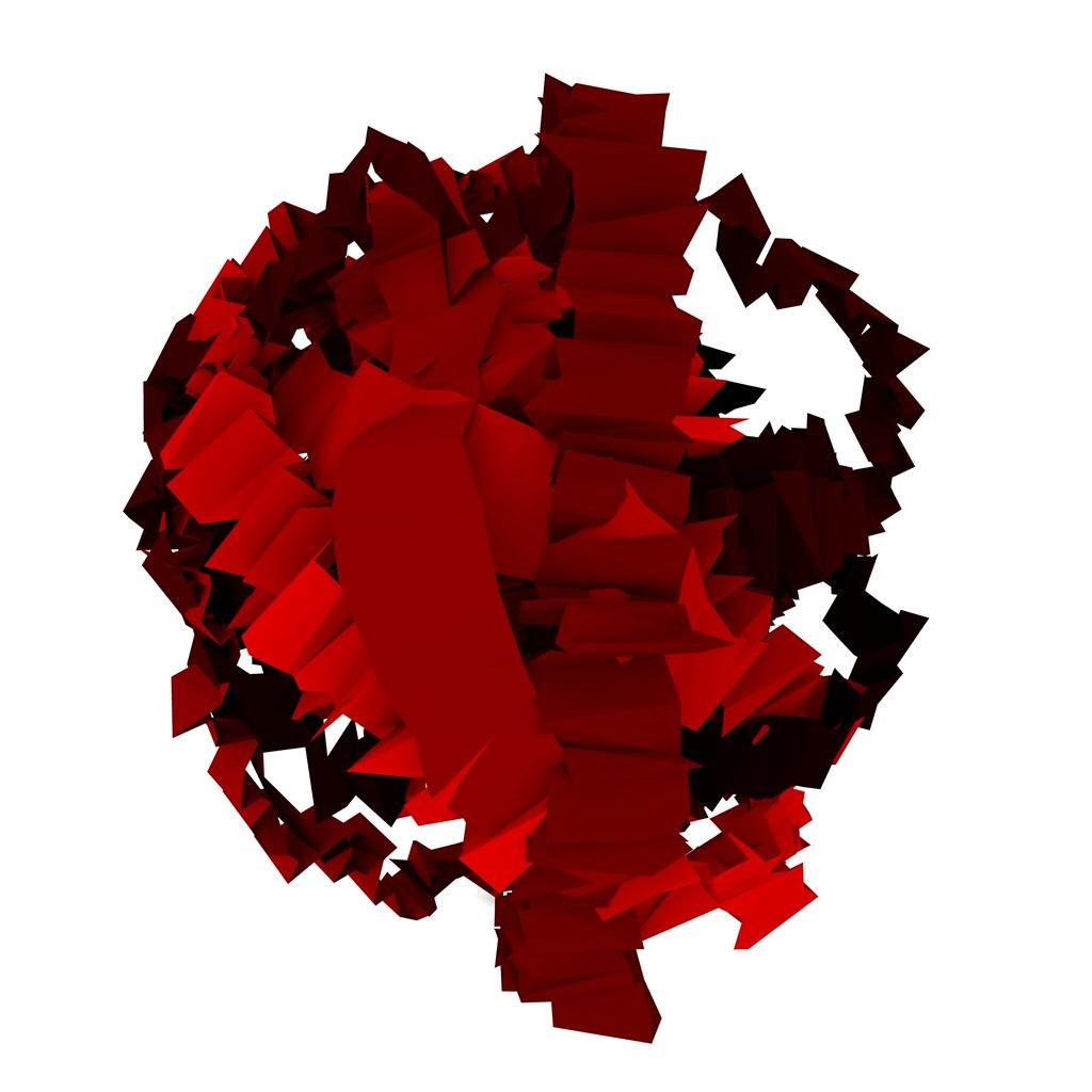 red Sunflow mesh