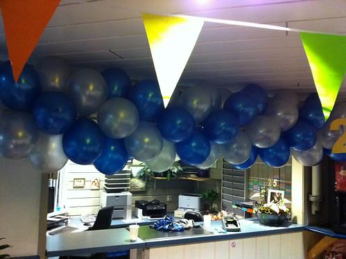 Ballonslinger Autobedrijf van Rooijen Nieuwegein