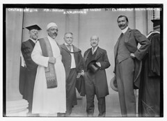 Columbia -- Mr. Dhalla, H.Y. Clews, Djelal Munif Bey and A.V.W. Jackson  (LOC)