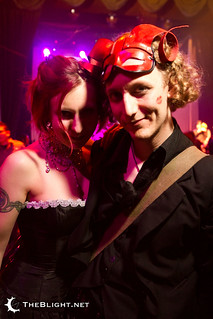 Miss w.e.b. and me at the Edwardian Ball Los Angeles 2011