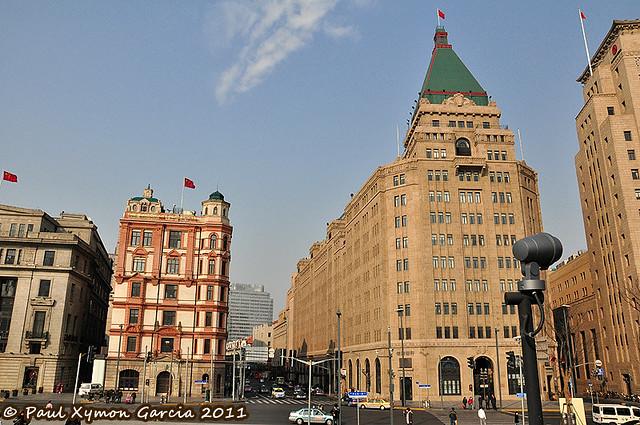 Swatch Art Peace Hotel and Fairmont Peace Hotel, The Bund, Shanghai