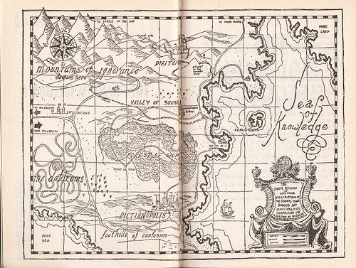 Map from The Phantom Tollbooth
