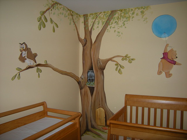 Winnie the pooh baby room decorations photograph winnie th for Winnie the pooh bedroom designs