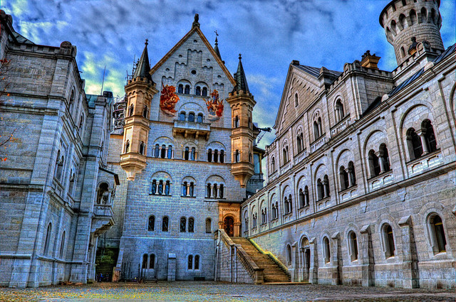 Neuschwanstein Germany  (HDR)