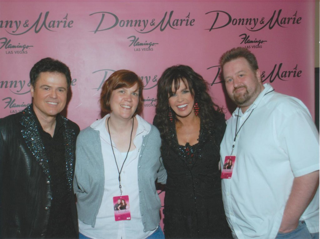 Flickr photos tagged donnyandmarie picssr donny and marie donny and marie meet greet m4hsunfo