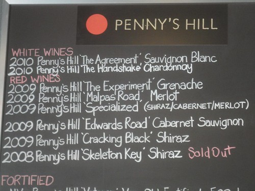 Penny's Hill Winery, South Australia