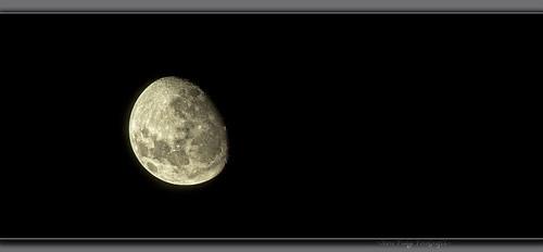 sky moon dark bright