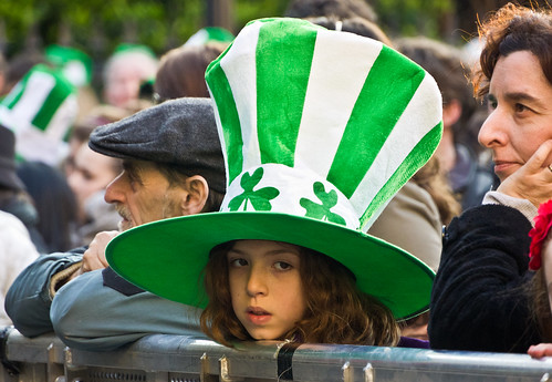 St. Patrick's Festival Céilí [2011] - Big Green Hat On A Little Princess