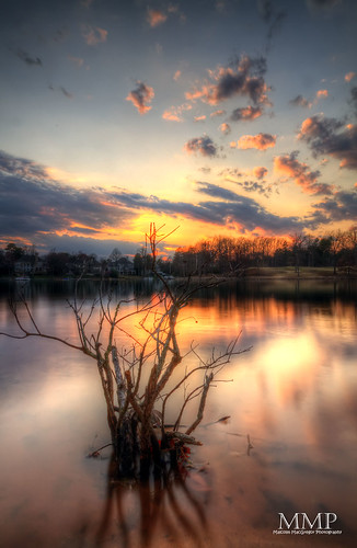 park sunset lake charlotte north norman carolina jetton