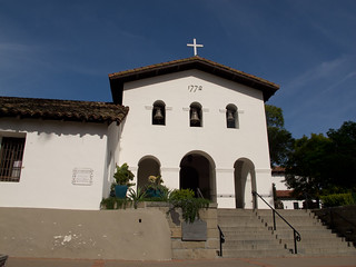 Mission San Luis Obispo - a reminder of home holiday travel.