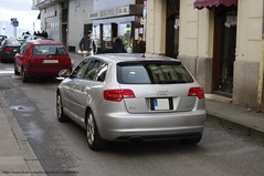 executive car(0.0), audi rs 6(0.0), automobile(1.0), automotive exterior(1.0), audi(1.0), family car(1.0), wheel(1.0), vehicle(1.0), automotive design(1.0), audi s3(1.0), audi a3(1.0), compact car(1.0), bumper(1.0), land vehicle(1.0), vehicle registration plate(1.0), hatchback(1.0),