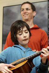 daniel & flynn, on guitar