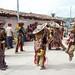 Dancers - Danzantes; Fiesta del pueblo - Joyabaj, El Quiché, Guatemala