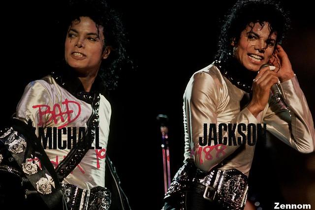Michael Jackson Bad Tour 1988 | Flickr - Photo Sharing!