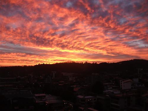 chile sky clouds sunrise conce cielo nubes concepción apocalipsis biobío