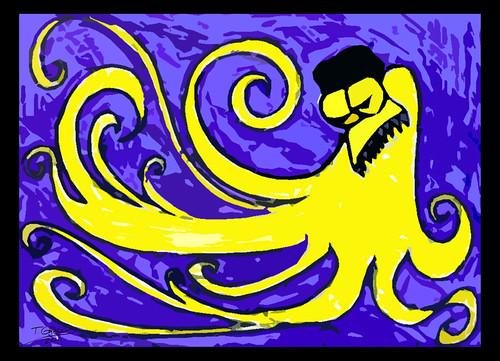 Azul e outra cor by O que dizem os monstros