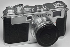 Nikon S2 Rangefinder (Chrome Dial) with 5cm f/1.4 lens