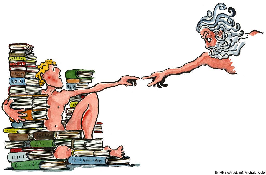 Michelangelo Illustration