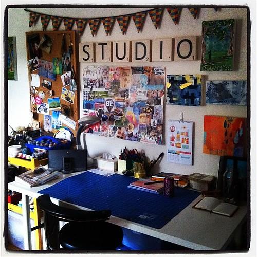 I has me a studio!