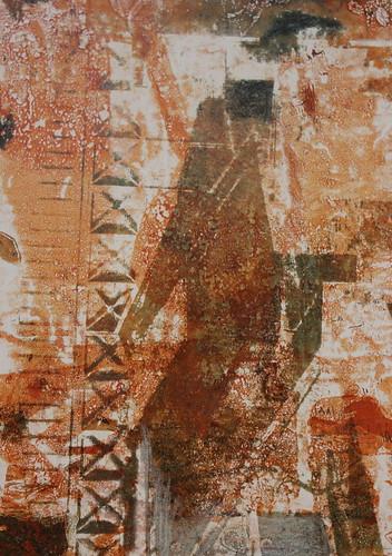 Gelli Arts Plate Print 9