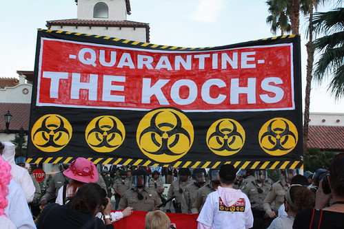 Quarantine The Kochs! (Photo: Delana Martin, flickr)