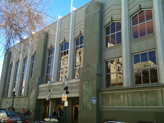 James W. Plachek's 1930 Moderne Berkeley Public Library