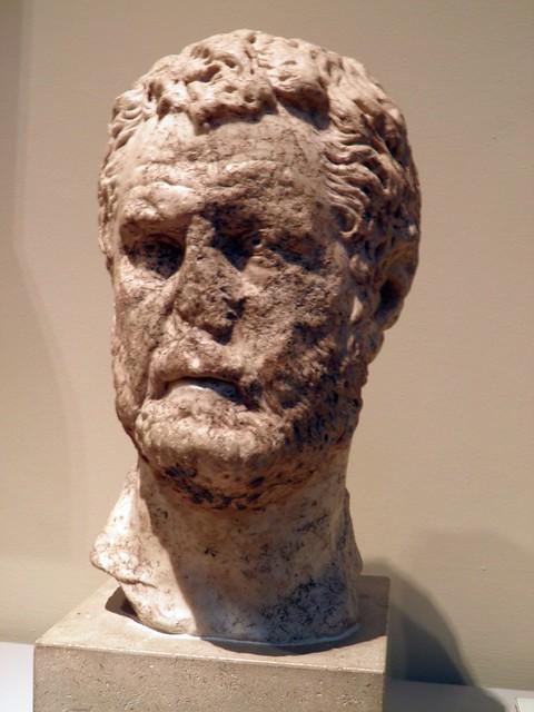 Marble Portrait Bust, Roman Britain, British Museum