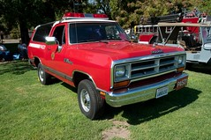 California Department of Forestry 1989 Dodge Ram Charger