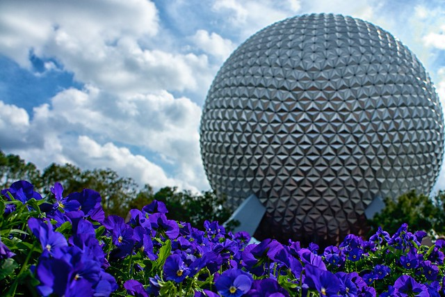 Epcot Center within Walt Disney World by CC user pahudson on Flickr