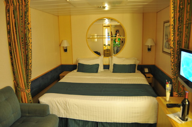 My inside cabin on the freedom of the seas room 7355 for Liberty of the seas best cabins
